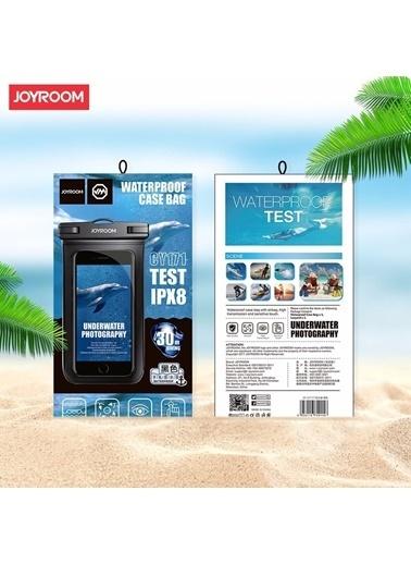 Microsonic Joyroom Waterproof Case Bag / Su Geçirmez Kılıf Beyaz Beyaz